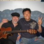 With Sho Kosugi